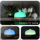 300ml wood pattern cool mist humidifier electric aroma diffuser for salon                                                                                                         Supplier's Choice
