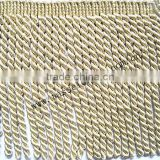 6 INCH LONG TASSEL BULLION FRINGE