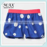 Children boutique summer 2015 cotton girls Shorts Lovely pattern shorts Fashion Printing Boxer Shorts