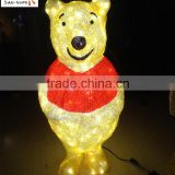 Cutely bear decorative fancy light lovely led decoration light festival holiday time decoration