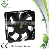 mini fan with battery 150*150*51mm 220V 240V automotive cooling fan metal small cooling fan