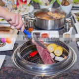 hot sale high quality stainless steel portable charcoal bbq grill for indoor/outdoor use