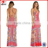 blank back women new dress designs maxi dress