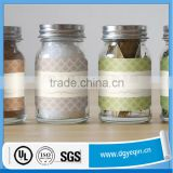 top quality tea canister adhesive label printing