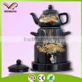 New style pour over pressure steam coffee kettle
