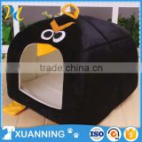 highly welcomed characteristic PP Cotton pet house black birds shape house for dog decorative dog houses