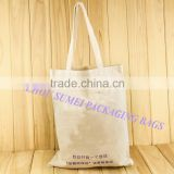 custom clear cotton canvas tote shopping bags no minimum