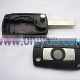 car key Flip remote key blank with 2 track