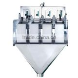 4 heads linear automatic check weigher for Weighing different products at one discharge