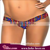 A37 New fashion sexy ladies girl G-string underwear low waist sexy women panty colorful women summer beach G-string