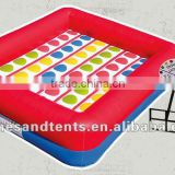 inflatable twister games, giant twister, entanglements A6001