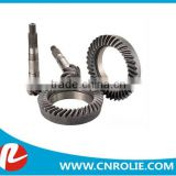 steel material high presision transmission gear BEDFORD J5-330 with ratio 5:34 oem 7167277 Crown wheel pinion