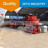 small stationary block making machine zy2-10 clay pavers bricks interlocking brick making automatic machine