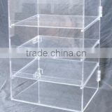 New bakery pastry acrylic display case 3 shelf plus