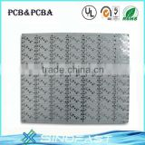 Single-sided Plating HAL PCB with Aluminum Board and 1 Layer, Suitable for Electronic Appliances