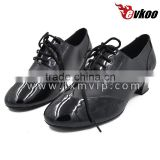 Handmade dance shoes men italian dance shoe manufacturers Low heels and high heels dancing shoes modern dance shoes for dancer