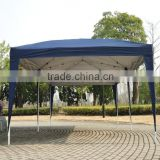 Outsunny 10' x 20' Easy Pop Up Canopy Party Tent - Navy Blue w/ 4 Removable Sidewalls
