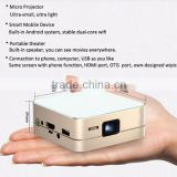 Portable Bluetooth Projector HDMI/MHL Dlp Link Home Theater 4K full hd 1080p 3d led projector