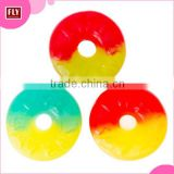 Custom Colorful Ring Shape Gummy Candy in Bulk
