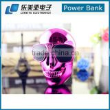 8800mah Cool Skull Universal Mobile Power Bank general charger external backup battery pack