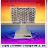 640-1200nm Www.golden-laser.org/2013 New Style E-light+IPL+RF Multifunction Machine Facial Toning Device Speckle Removal