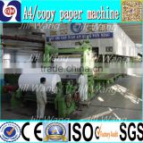 Zhengzhou Guangmao 2400mm a4 copy waste disposal paper recycling machine production line