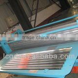 standing seam corrugated metal roofing roll forming machine