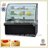 jieguan luxury free standing double arc cake Display Cooler /Cake Display Refrigerator CW-1200