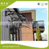 Brown UV Coating Sabic Polycarbonate Awning Anti Scratch Polycarbonate Sheet Guangzhou Factory