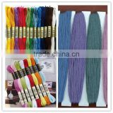 15062506 dmc embroidery thread 100% polyester cross stitch embroidery thread best embroidery thread dmc
