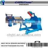 CYP-1300A Decoiler and leveler line