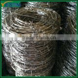 Concertina razor barbed wire/chain link fence top barbed wire/barbed wire fencing wholesale