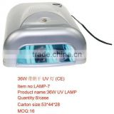 36w gel nail curing UV lamp(with dryer) Easy DIY