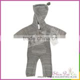 Factory directly wholesale winter fashion baby free knitting pattern suit garment sweater