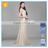 Flash Knitted Twill Fabric Cowl Neck Bias Cut Slim Ball Gown Evening Dress