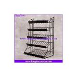 KingKara 5 Tiers Iron Wire Display Stand