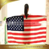 hebei gaoyang factory manufacturer microfiber reactive printed super soft USA flag beach towel 70*140cm