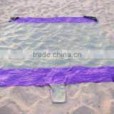 100% Nylon Waterproof Beach picnic blanket 7x7