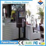 public coin-operated cell phone charge  mobile charge station