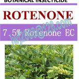 7.5% Rotenone EC, botanical insecticide