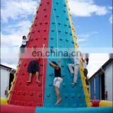 9m tall giant inflatable rock climbing wall