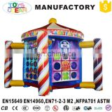 4in1 Kids inflatable Carnival amusement games Booth toss Dart Games Combo
