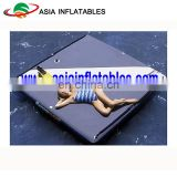 Gym Drop Stitch Air Roll / Inflatable Air Track Yoga Mat / Inflatable Platform Water Mat