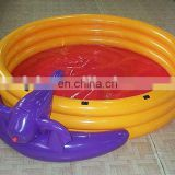 Round PVC inflatable baby swimming pool