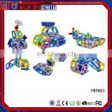 2017 Newest toys plastic magnetic building blocks for kids