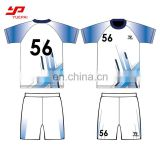 Customized player name and number printed adult and child football t shirt high quality team soccer jerseys