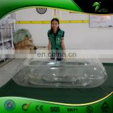 0.4mmPVC Inflatable Transparent Bed Hongyi Bouncing Matress