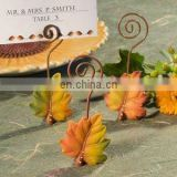 Autumn Leaf Wire Place Card Holders