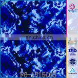 New Knit Indigo Resistant Rubber Print Fabric