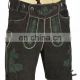 Leather Pants Suede-Leather German Shorts -Bavarian-Lederhosen